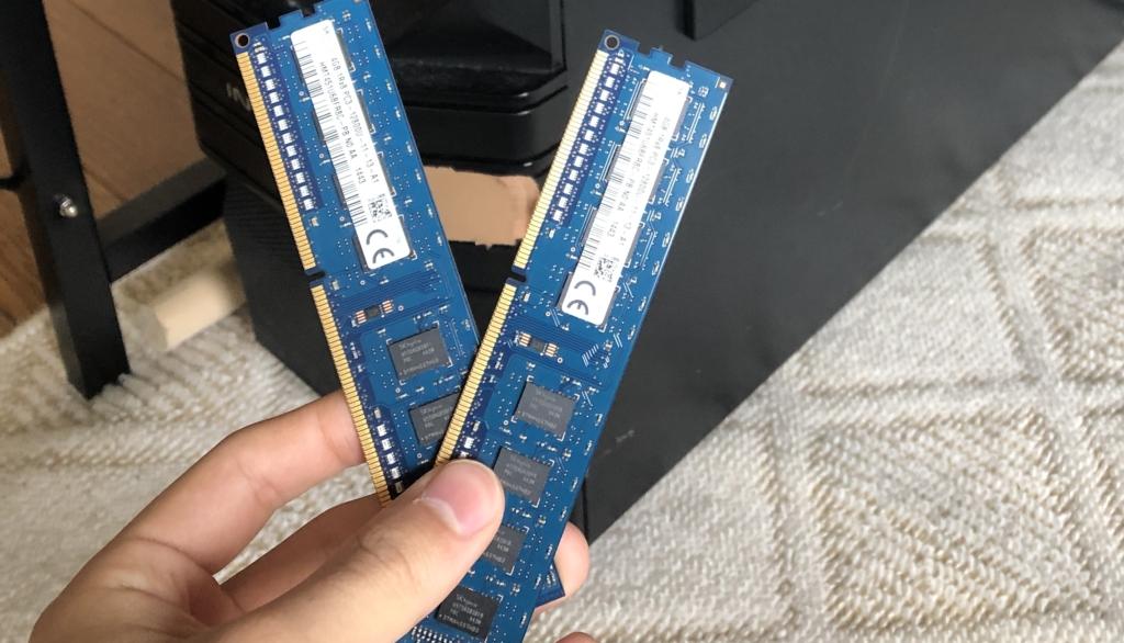 RAM メモリ 画像