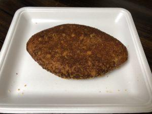 カレーライスの入った大きなカレーパン img