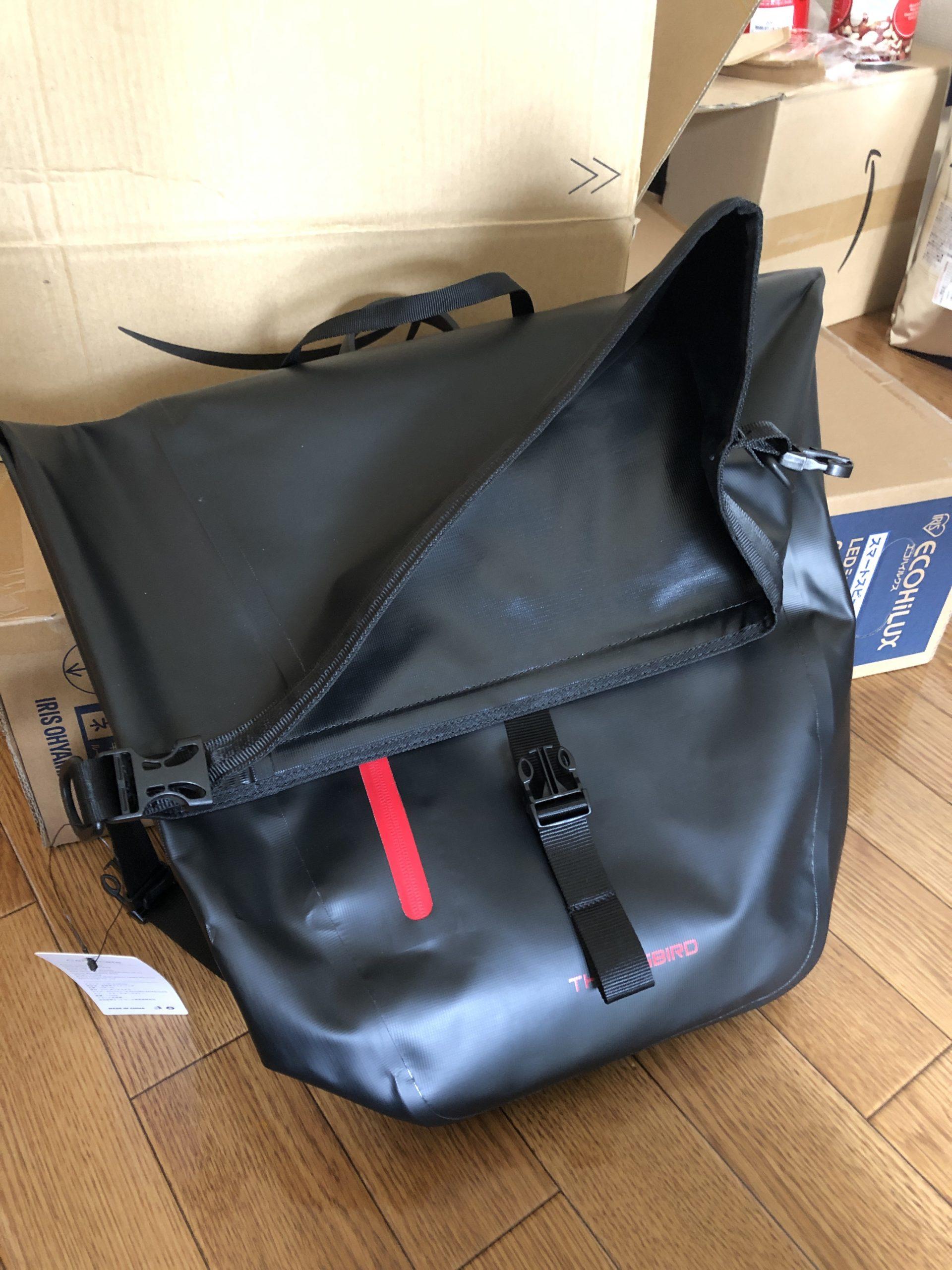THRLEGBIRD pannier bag front img